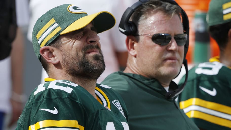 Report Aaron Rodgers Frustrated With State Of Packers Offense
