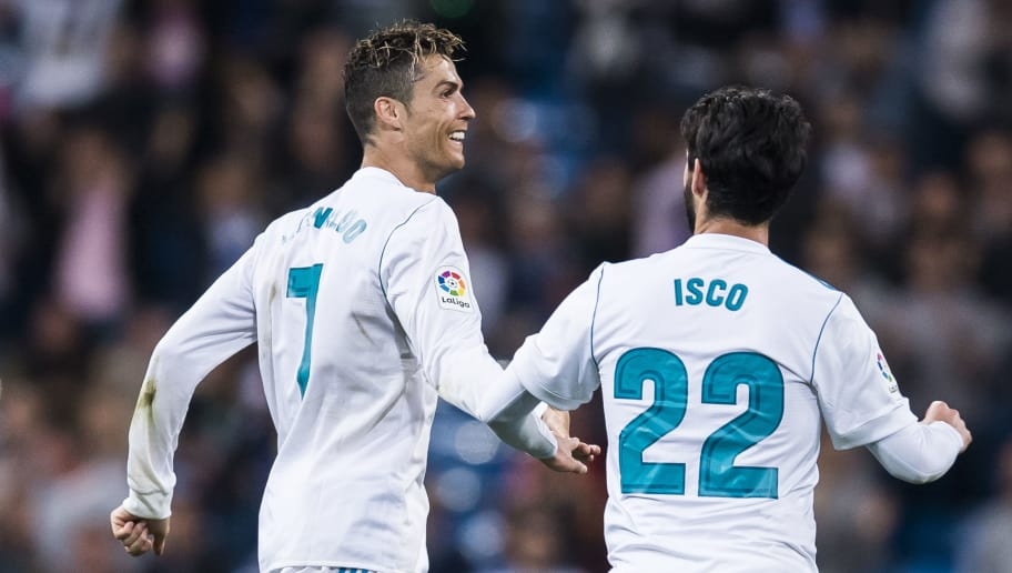 Image result for isco with cristiano ronaldo