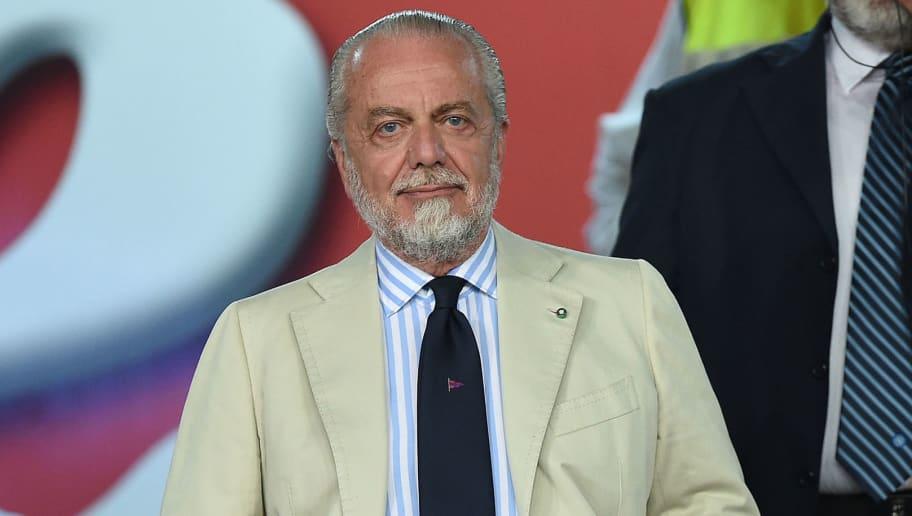 Napoli President Aurelio De Laurentiis Implies Liverpool & Roma Could Have 'Shared Ownership'