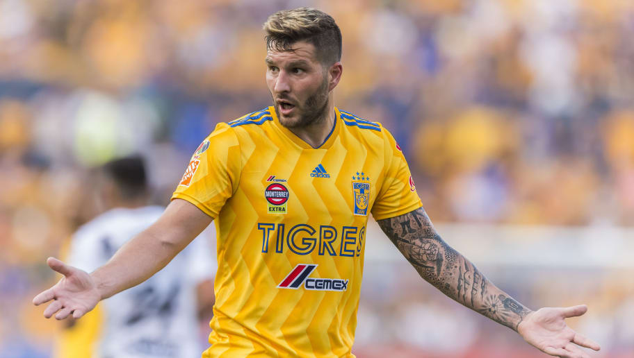 André-pierre Gignac con Tigres UANL este Apertura 2018