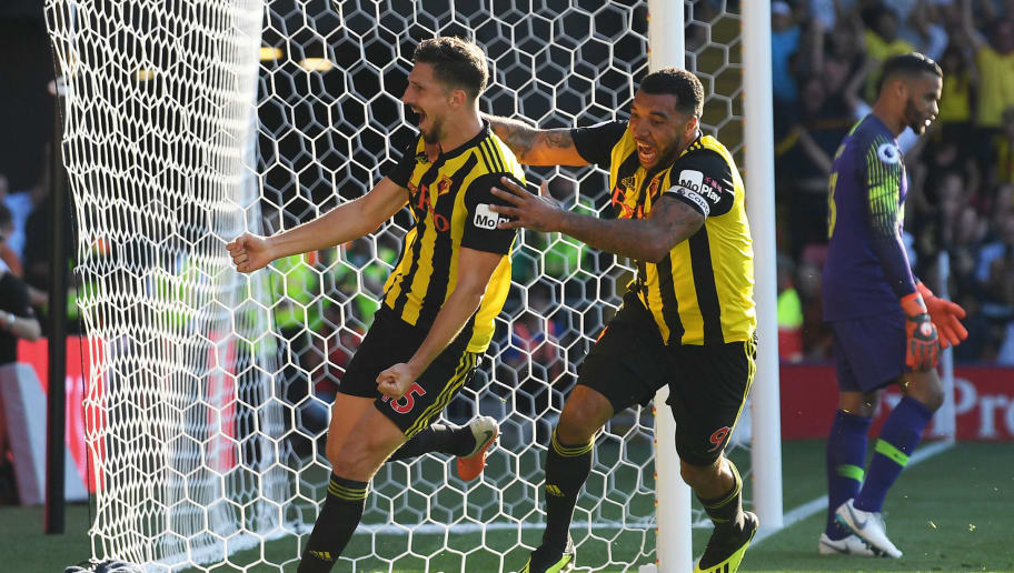 Watford fight back against Tottenham to maintain perfect start