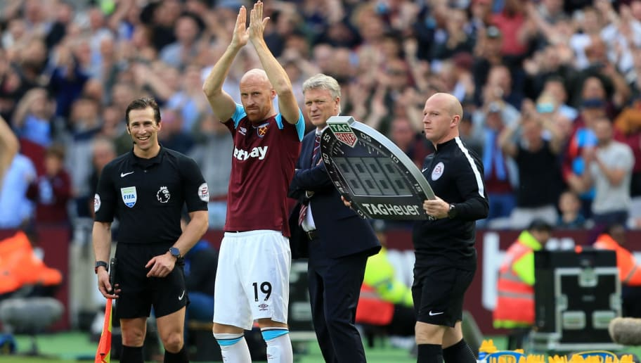 Former West Ham Star James Collins Spotted During Visit to Hammers Training Ground This Week