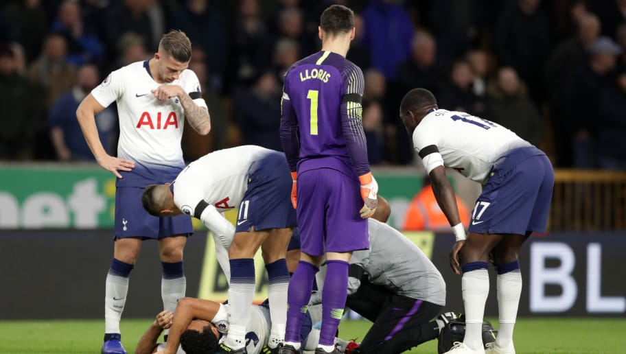 Image result for dembele spurs injured