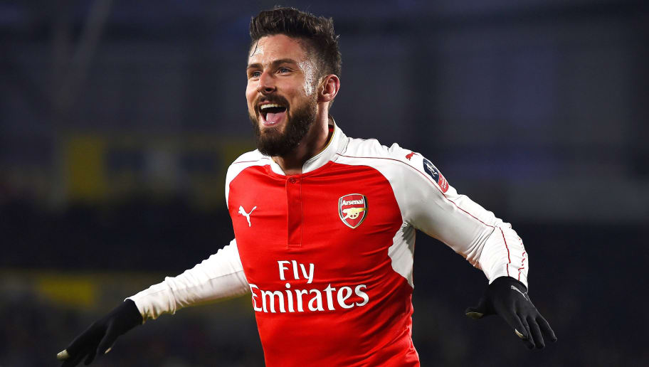 Arsenals Olivier Giroud Dedicates Hull City Goals To Newborn Son