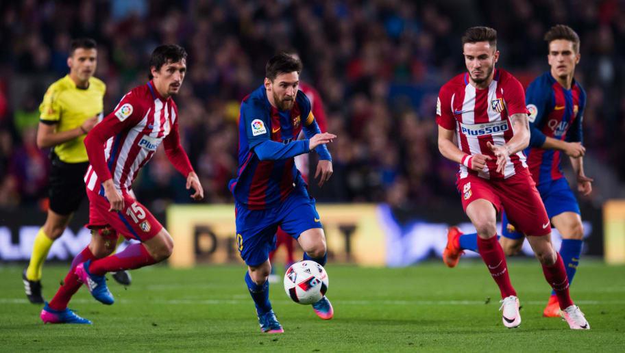 Atletico Madrid vs Barcelona ...