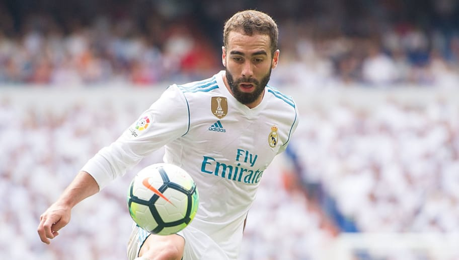 Real Madrid Defender Dani Carvajal