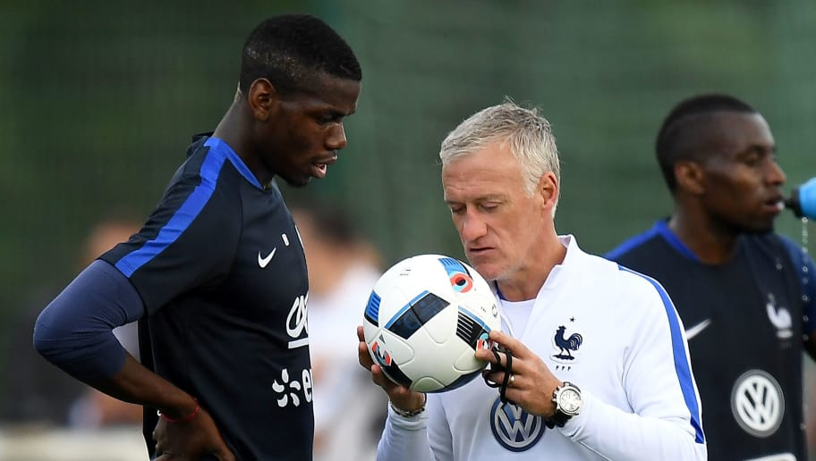 Image result for didier deschamps Pogba