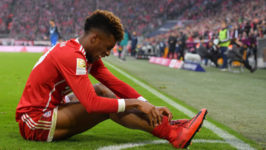Bayern Munich Winger Kingsley Coman Set for Several Weeks Out After Sustaining Ankle Injury