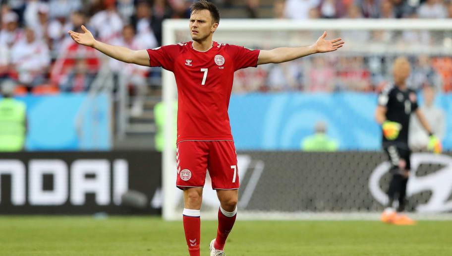 Denmark Midfielder William Kvist