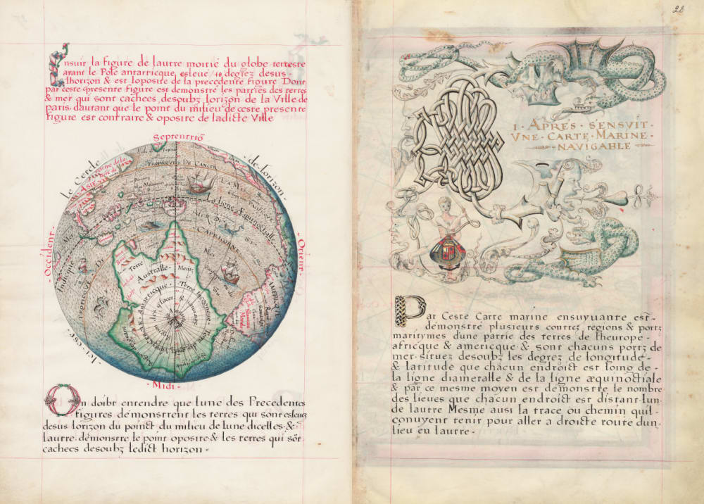 8. Mappa Mundi II, Second Hemisphere
