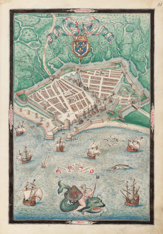 7. Plan of Le Havre