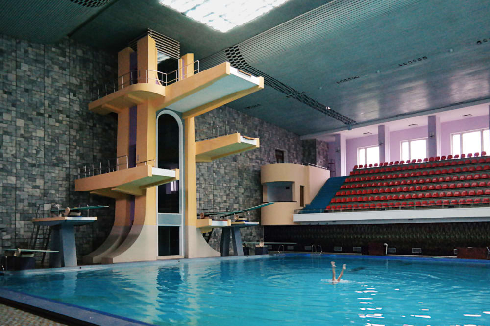 9. The Pool at the Health Center