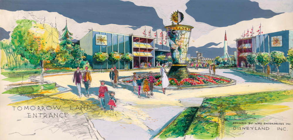 3. AN ILLUSTRATED RENDERING OF TOMORROWLAND