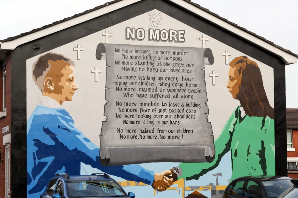 18. SOME SAY PARAMILITARY MURALS SHOULD BE COVERED UP ...