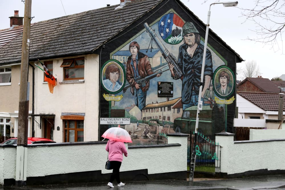 14. THE GOOD FRIDAY AGREEMENT IS SIGNED.