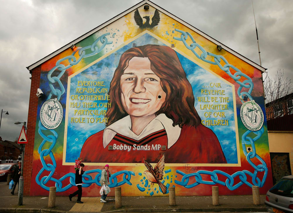 13. BOBBY SANDS STAGES A HUNGER STRIKE.