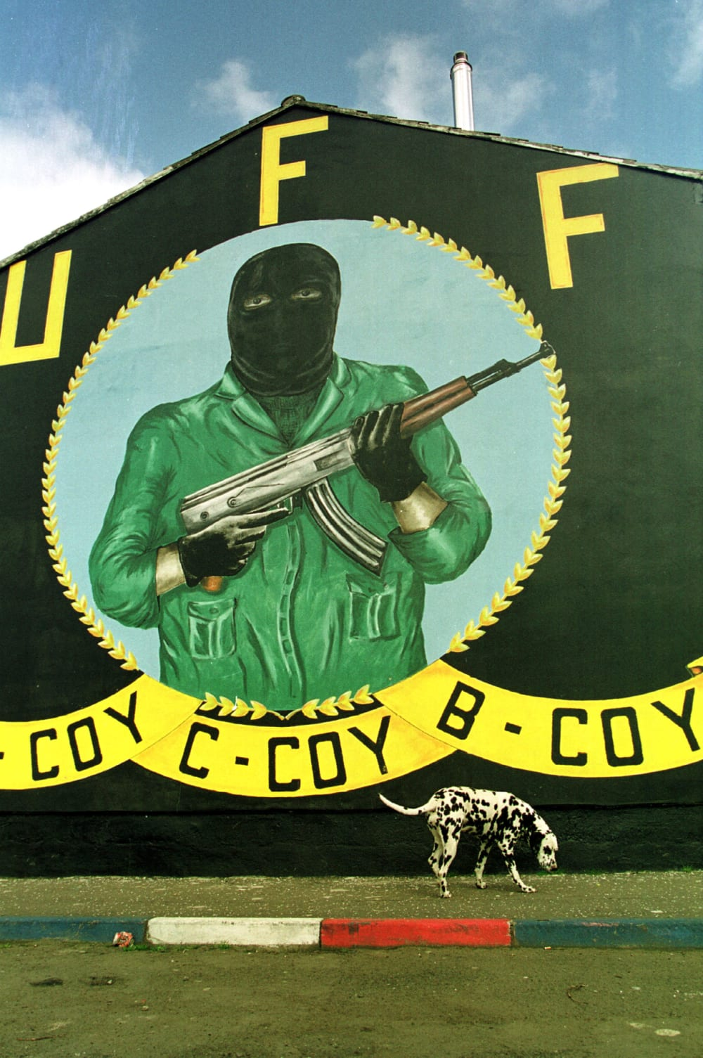 10. THE ULSTER FREEDOM FIGHTERS ARE OUTLAWED.