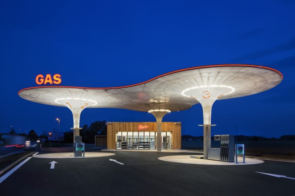 8. MATÚŠKOVO GAS STATION