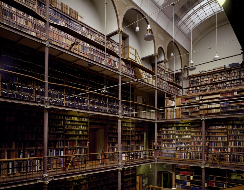 2. RIJKSMUSEUM RESEARCH LIBRARY // AMSTERDAM, THE NETHERLANDS