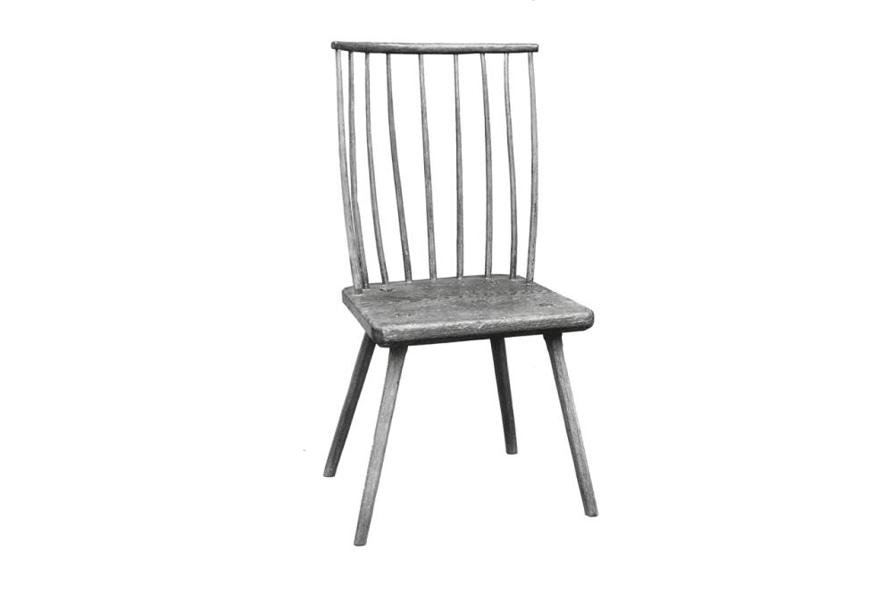 2. FAN-BACK SIDE CHAIR // c. 1780
