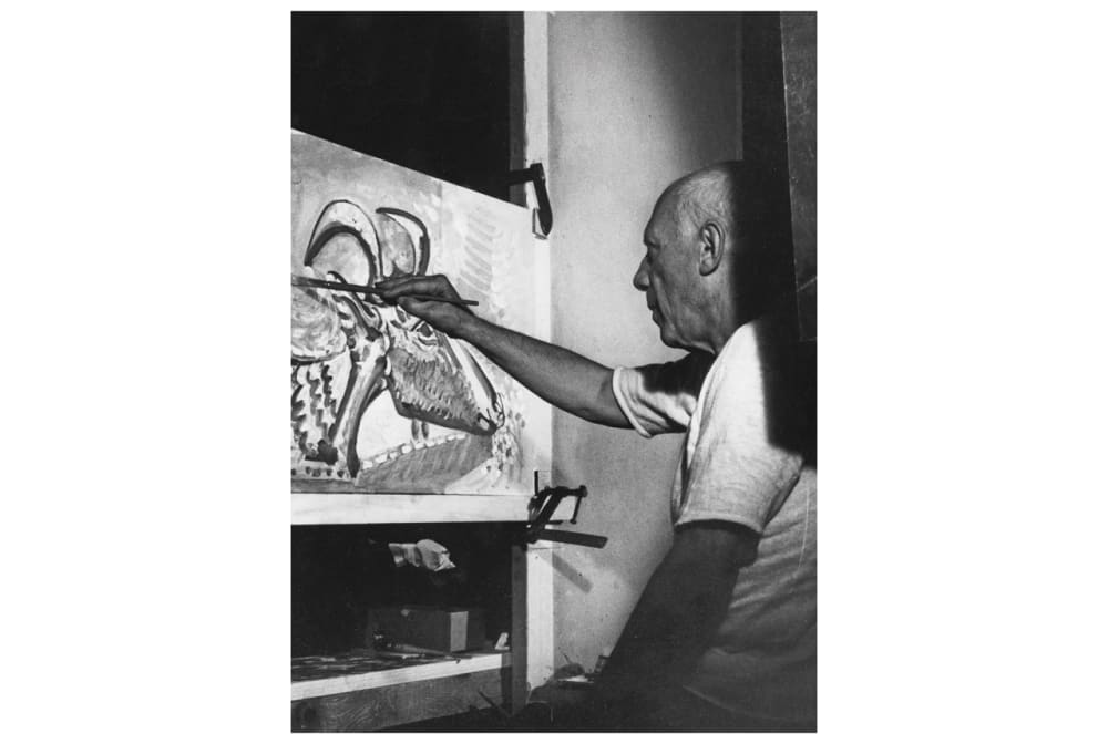 7. PICASSO PAINTINGS MADE FOR 'LE MYSTERE PICASSO'