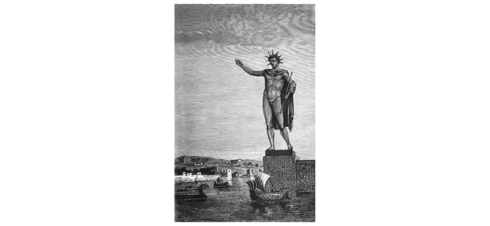1. COLOSSUS OF RHODES STATUE