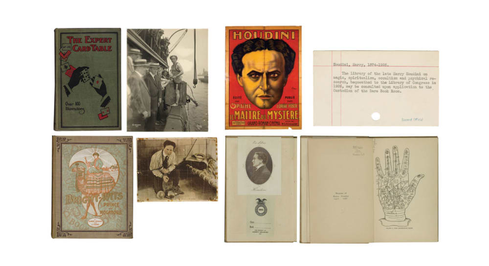 8. HARRY HOUDINI'S PERSONAL COLLECTION