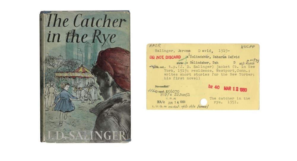 11. <em>THE CATCHER IN THE RYE</em> (1951) // J.D. SALINGER