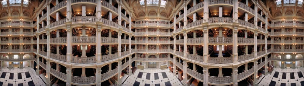 6. GEORGE PEABODY LIBRARY, BALTIMORE, 2010