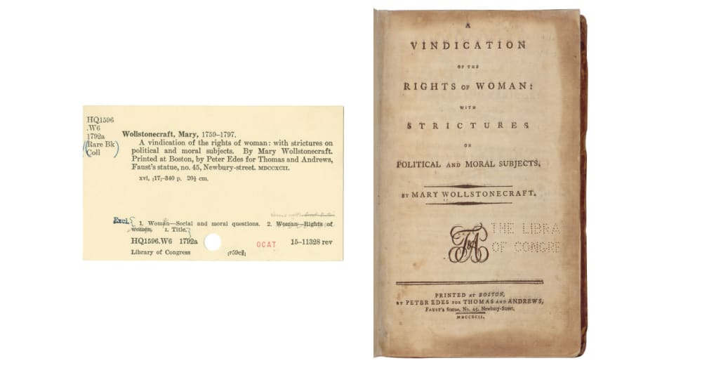 4. <em>A VINDICATION OF THE RIGHTS OF WOMEN …</em> (1792) // MARY WOLLSTONECRAFT