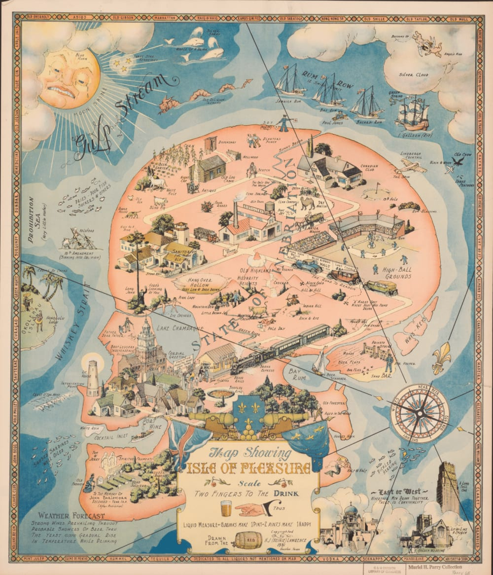 2. MAP SHOWING ISLE OF PLEASURE, 1931
