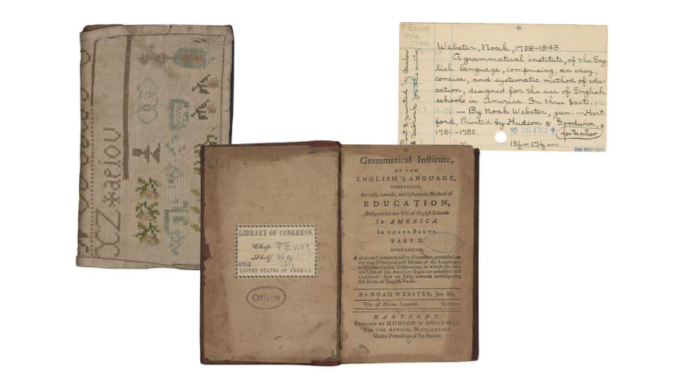 5. <em>A GRAMMATICAL INSTITUTE OF THE ENGLISH LANGUAGE … </em> (1784) // NOAH WEBSTER