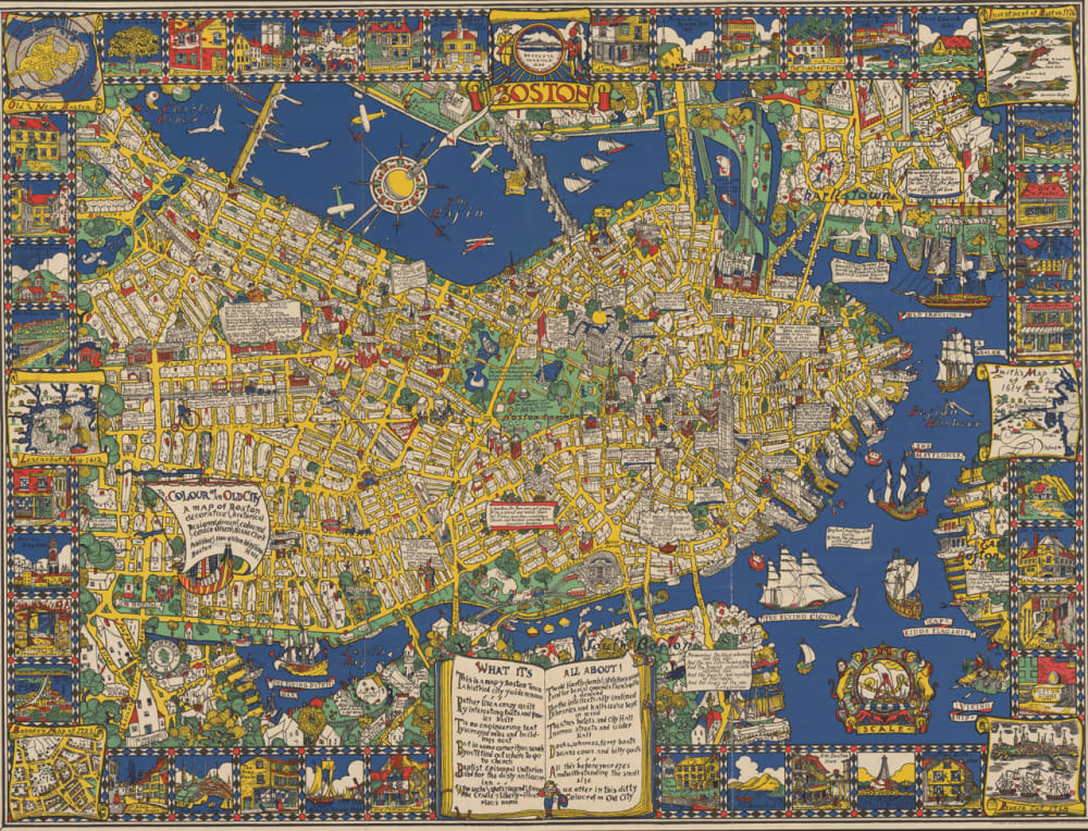 5. THE COLOUR OF AN OLD CITY: A MAP OF BOSTON, 1926