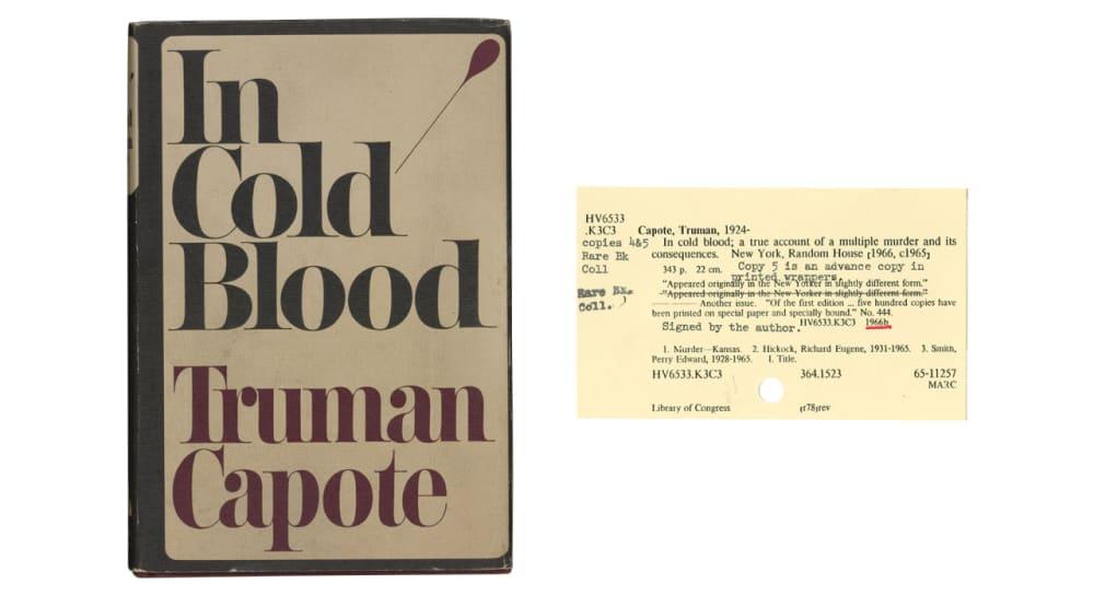 12. <em>IN COLD BLOOD</em> (1965) // TRUMAN CAPOTE