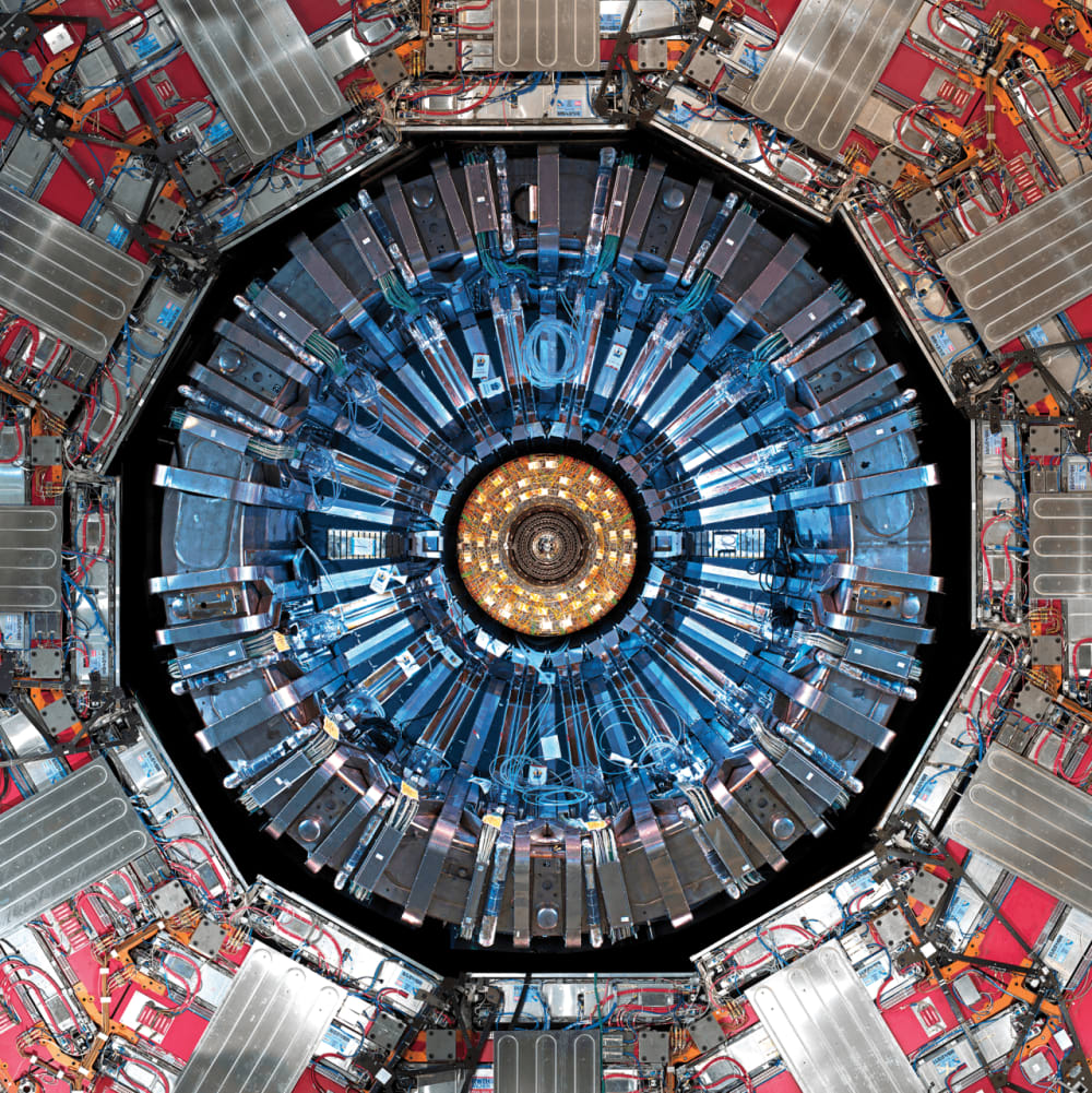 2. COMPACT MUON SOLENOID, LARGE HADRON COLLIDER, CESSY, FRANCE, 2008