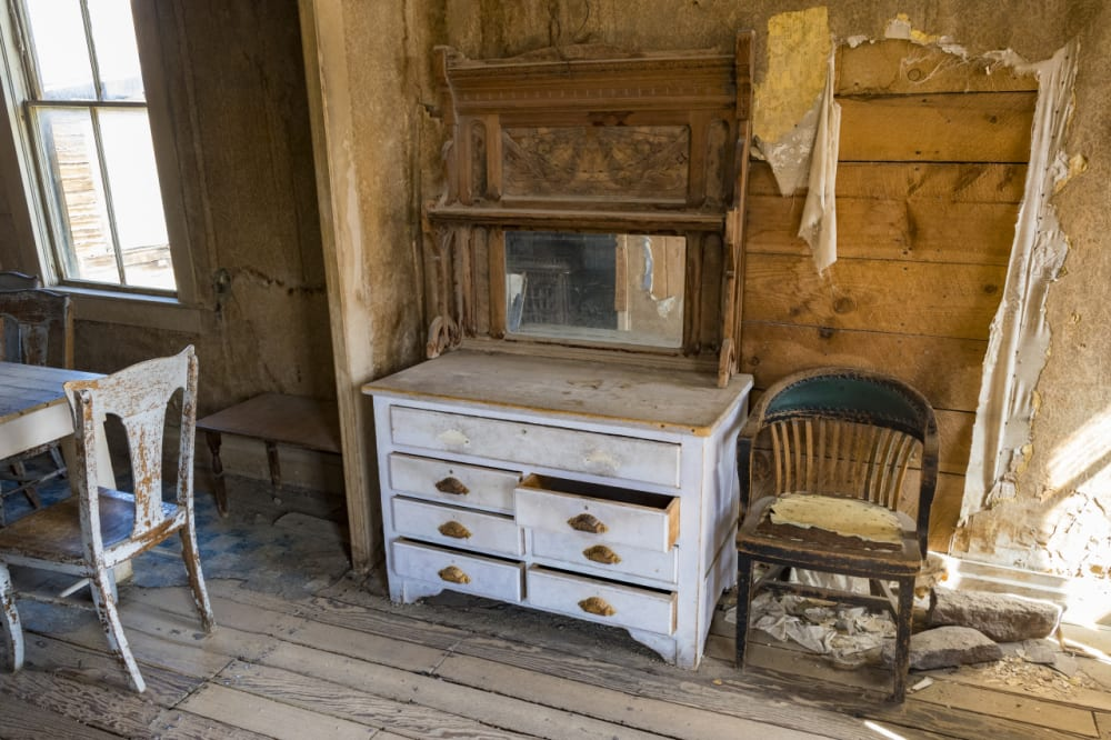 Interior of a Home in Bodie