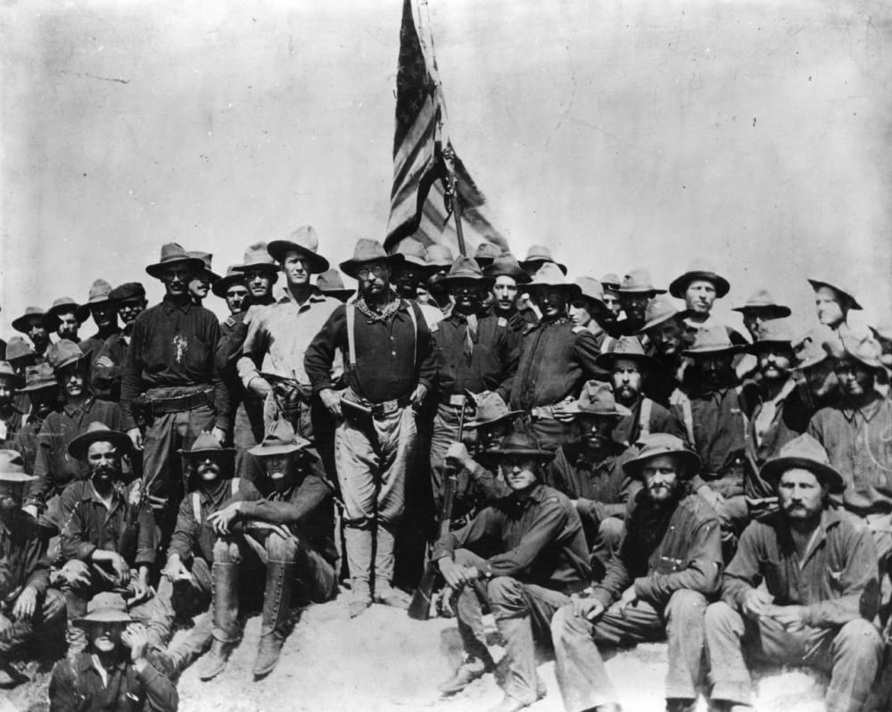 11. TR with the Rough Riders