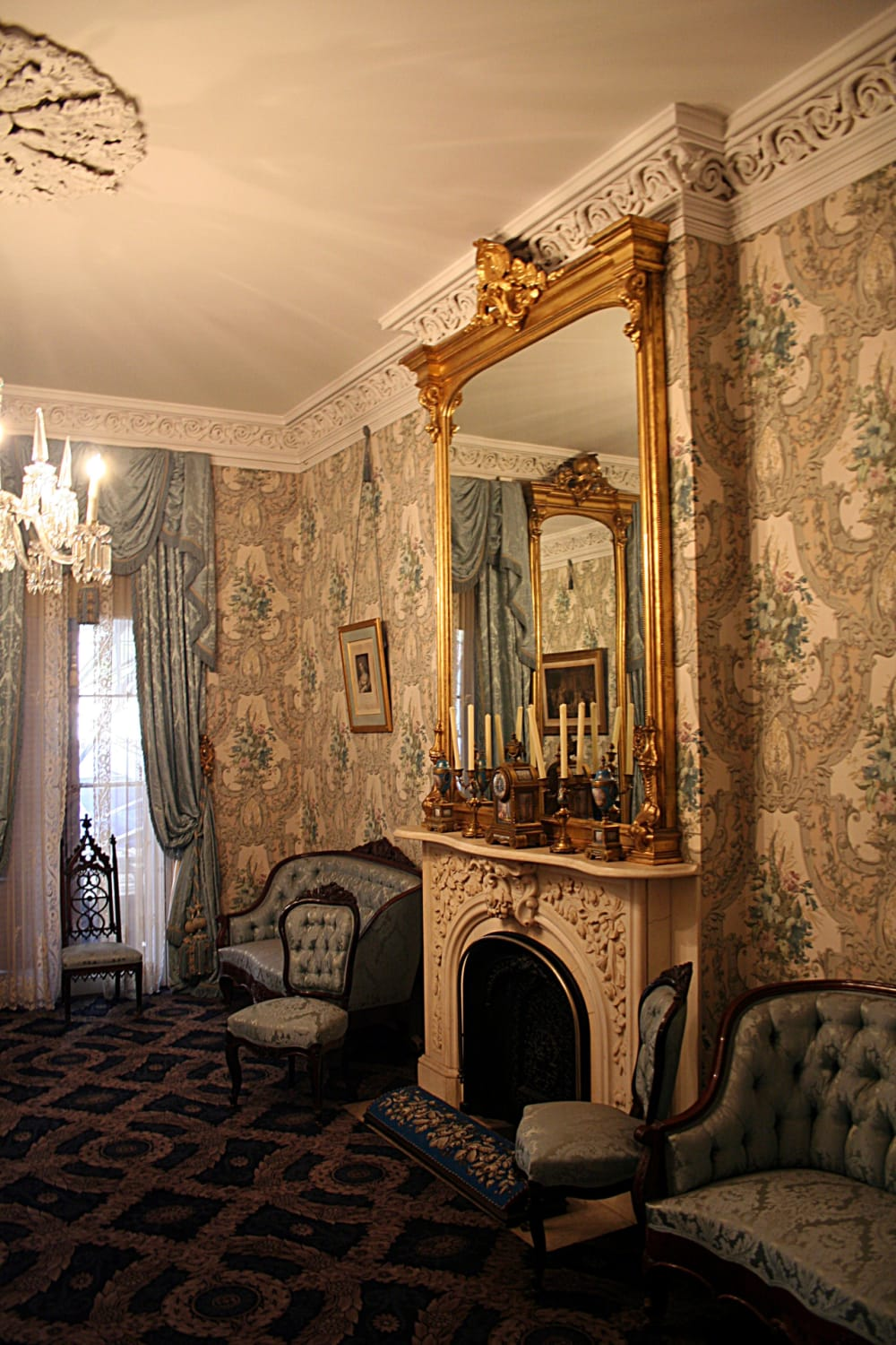 2. The Sitting Room at TR's Childhood Home