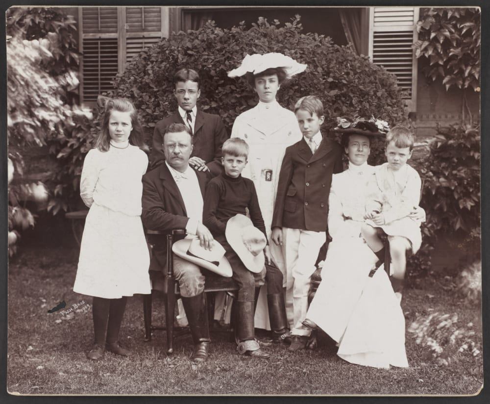 13. Roosevelt Family Portrait