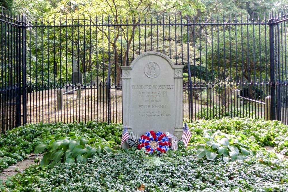 23. Theodore Roosevelt's Gravesite