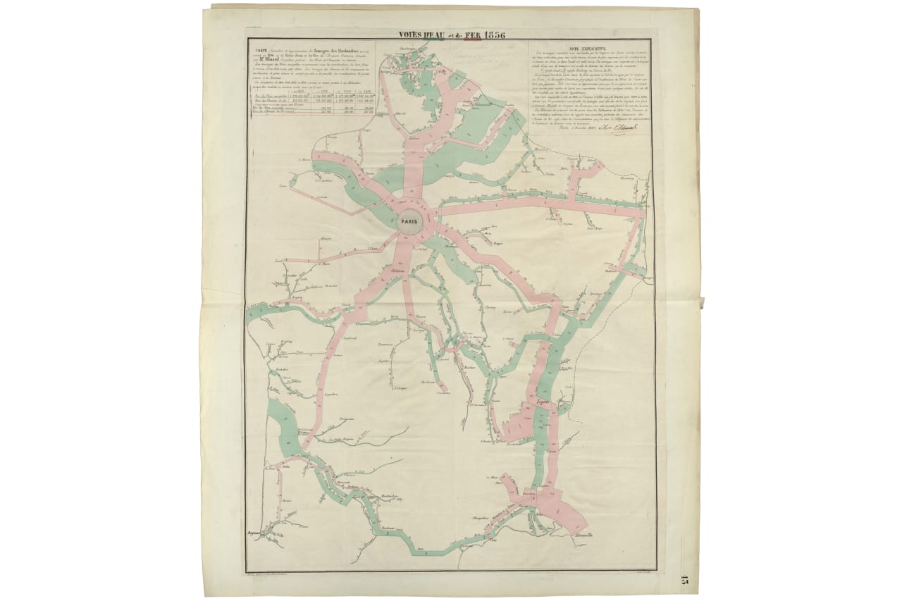 6 Little-Known Maps by the 19th Century\'s Most Famous Infographic ...