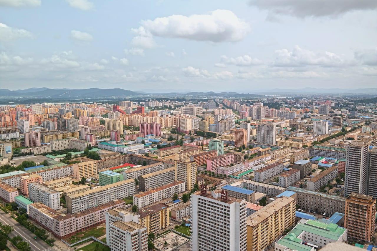 1. An Aerial View of Pyongyang