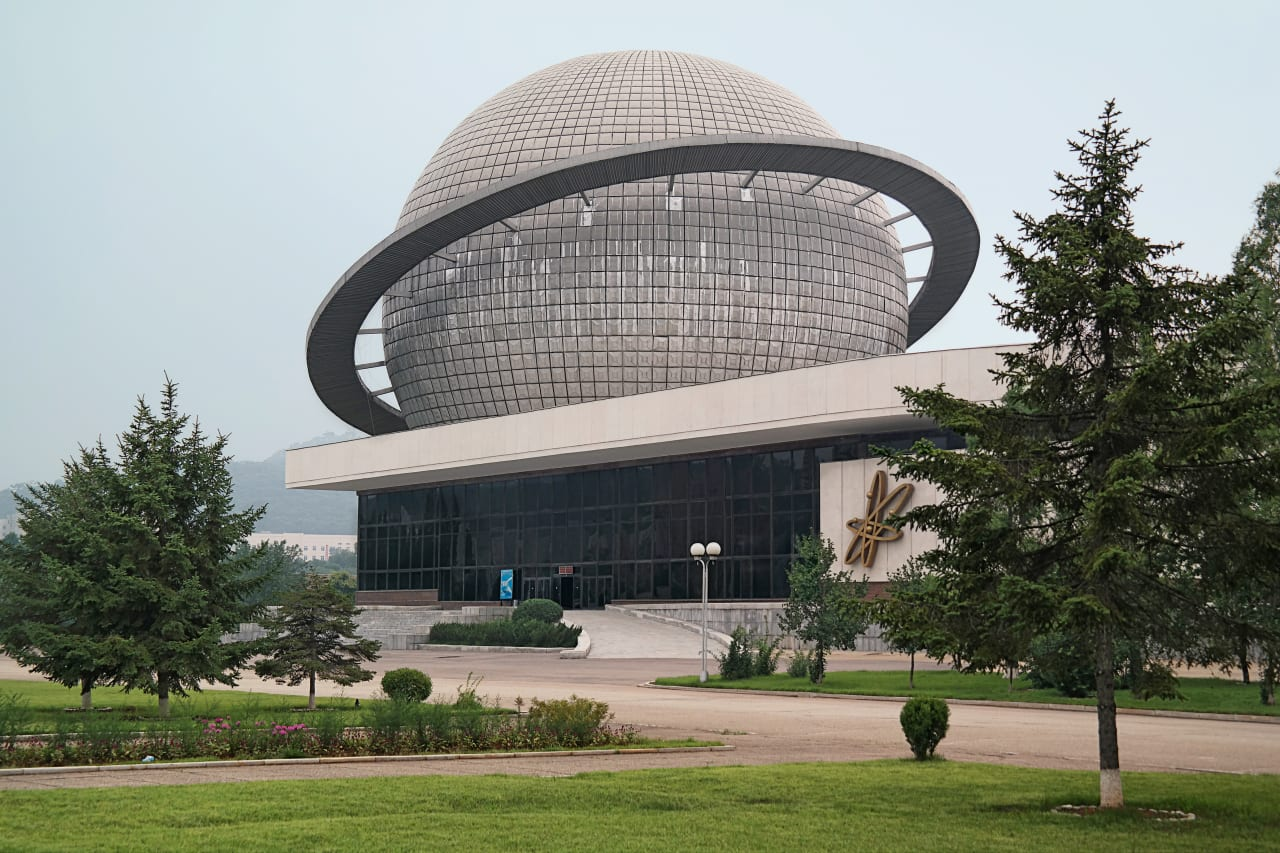 6. A Building in The Three Revolutions Expo Park