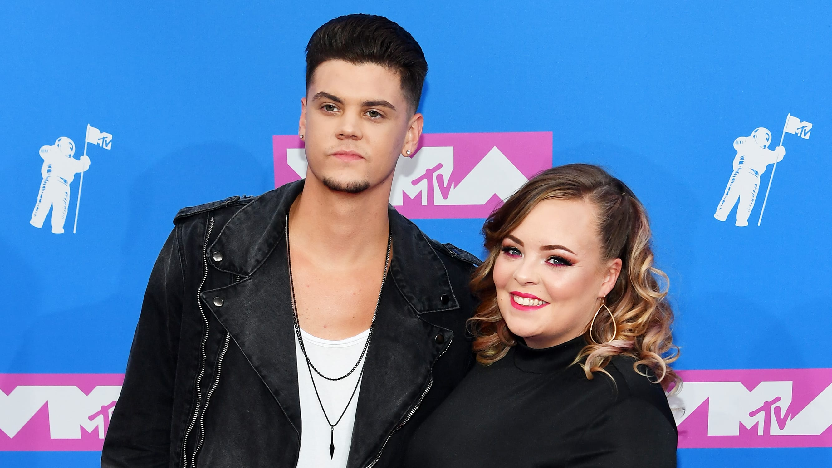 'Teen Mom's Tyler Baltierra Defends Wife Catelynn Against 'Disturbing' Troll Comments