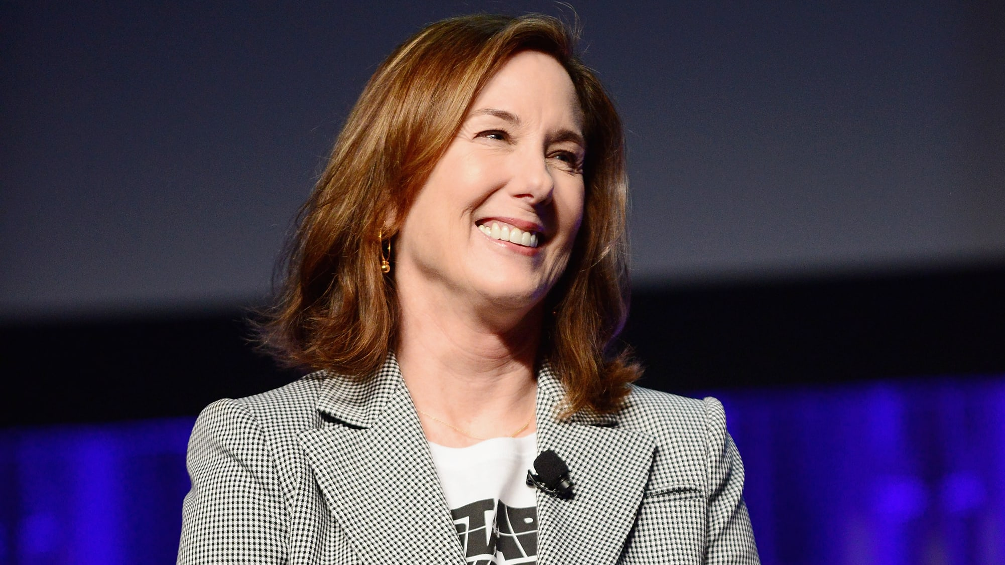 ORLANDO, FL - APRIL 13:  Kathleen Kennedy attends the 40 Years of Star Wars panel during the 2017 Star Wars Celebrationat Orange County Convention Center on April 13, 2017 in Orlando, Florida.  (Photo by Gerardo Mora/Getty Images for Disney)