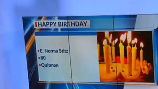 VIDEO: Newscasters Tricked Into Making Embarrassing Birthday Announcement