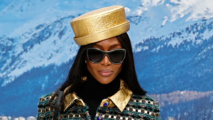 Naomi Campbell Gives Shady Answer When Asked About Kim Kardashian Copying Her Looks