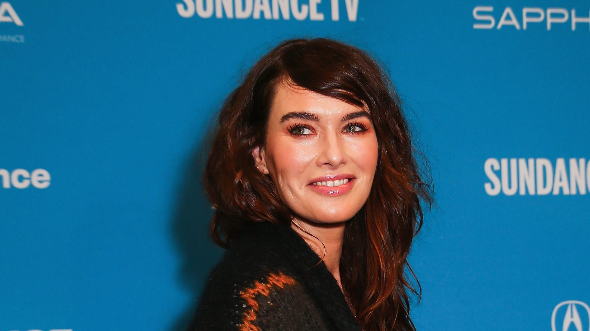"""PARK CITY, UTAH - JANUARY 28: Actress Lena Headey poses for a at a Sundance special screening of """"Fighting with My Family"""" on January 28, 2019 in Park City, Utah. (Photo by Suzi Pratt/Getty Images for Metro Goldwyn Mayer Pictures)"""