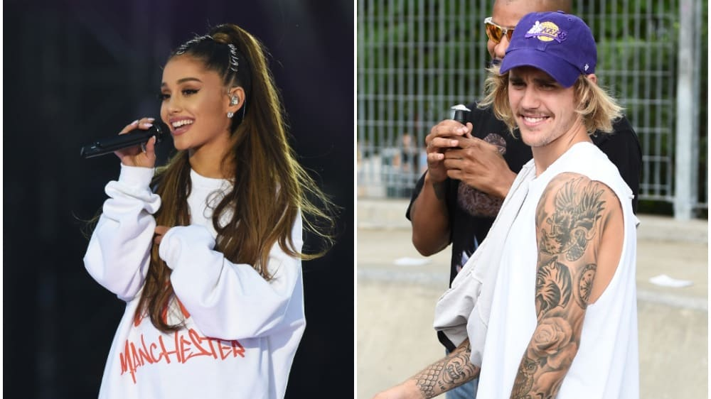 Ariana Grande and Justin Bieber Drag E! News Host for Criticizing Their Coachella Performance