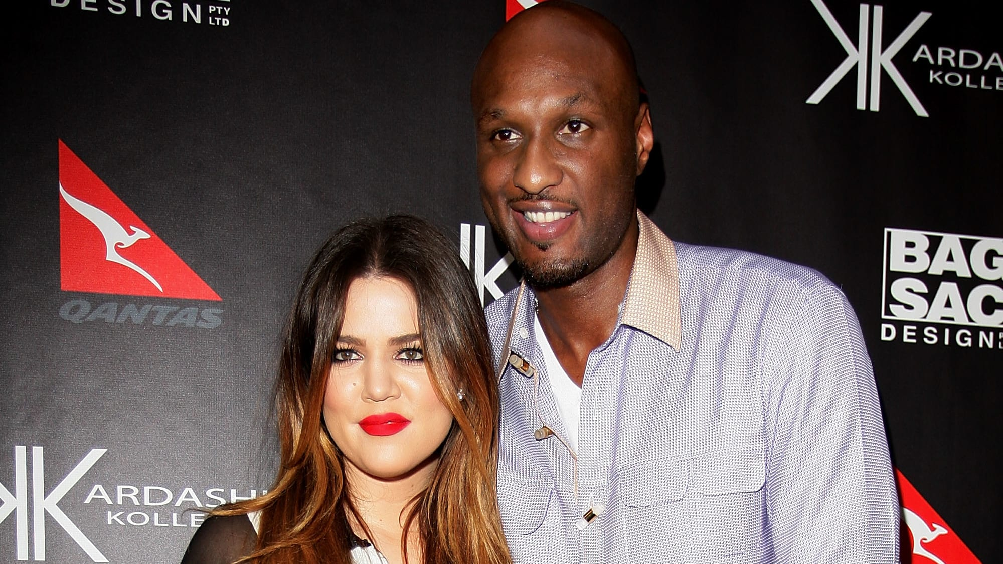 SYDNEY, AUSTRALIA - NOVEMBER 02:  Khloe Kardashian Odom and Lamar Odom arrive at the Kardashian Kollection Handbag launch at Hugo's on November 2, 2011 in Sydney, Australia. The Kardashian sisters will make an in-store appearance at David Jones tomorrow.  (Photo by Lisa Maree Williams/Getty Images)